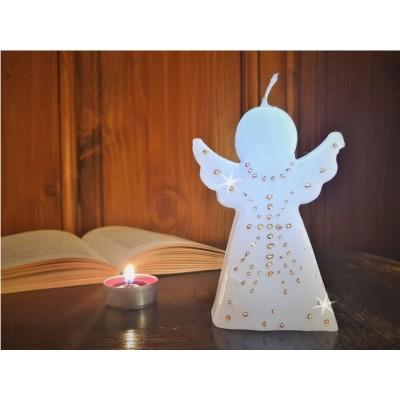 Svíčka Andílek malovaný