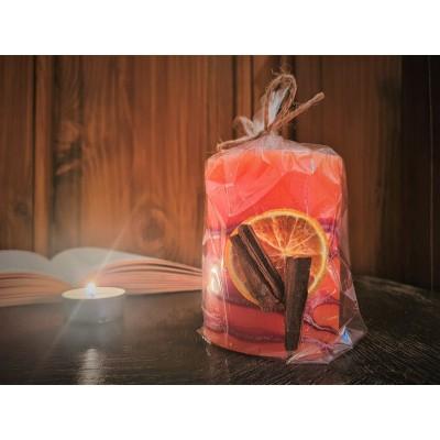 Vonná svíčka Jablko se skořicí
