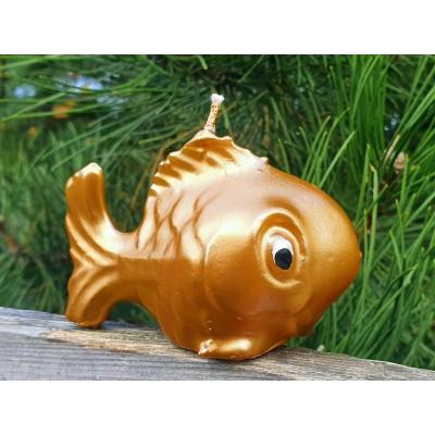 Svíčka Zlatá rybka